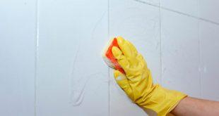 ترفندهایی برای تمیز کردن کاشی های حمام