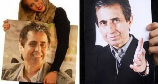 فریبا نادری و همسرش رسام