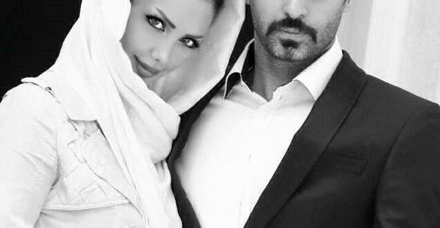 علیرام نورایی و همسر